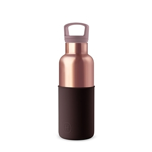 【HYDY】時尚保溫瓶 櫻桃紅-蜜粉金瓶 (480ml)