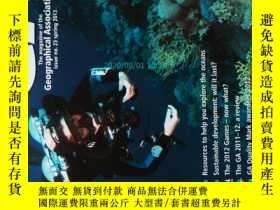 二手書博民逛書店GA罕見: the magazine of the Geographical Association 2013 春