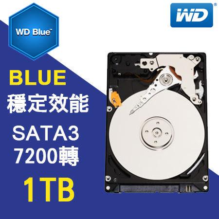 硬碟 WD 1T B 3.5吋 SATA3 藍標 內接硬碟 WD10EZEX