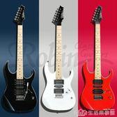 羅賓搖滾24品電吉他搖滾主音金屬朋克初學生入門教學電吉他 生活樂事館NMS