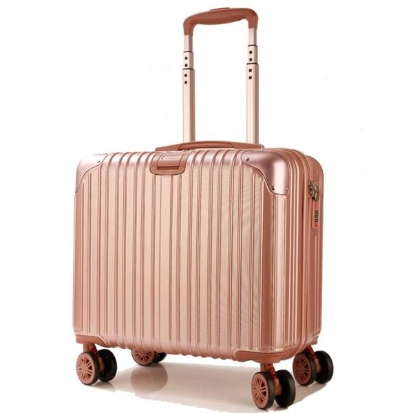 18寸小行李箱女迷你登機箱萬向輪旅行箱子大學生拉桿箱男正韓