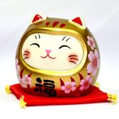 開運貓不倒翁 櫻花 金福 日本帶回 吉祥物