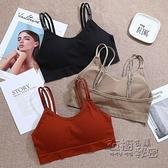 日本美背內衣無鋼圈薄款無痕舒適聚攏學生高中少女簡約純色裹胸罩 衣櫥秘密