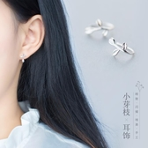 耳環耳釘耳夾氣質日系個性無耳洞【奇趣小屋】