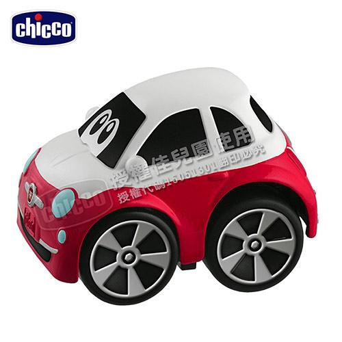 Chicco FIAT 500 經典迴力車-紅白色【佳兒園婦幼館】