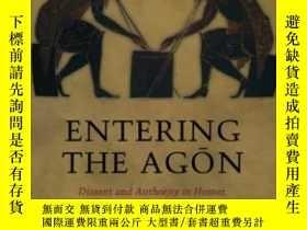 二手書博民逛書店Entering罕見The AgonY255174 Elton