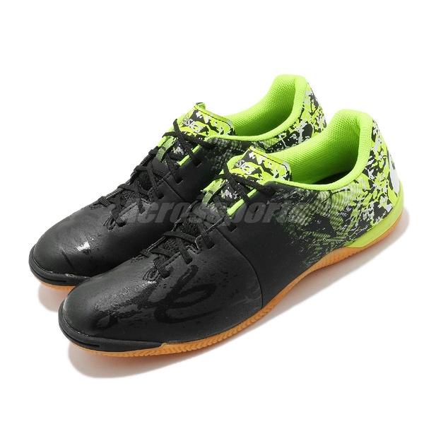【六折特賣】Asics 足球鞋 Toque 6 黑 黃 男鞋 皮質 緩衝 運動鞋 【ACS】 1113A010013