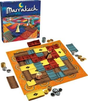 【KANGA GAMES】馬拉喀什市集 Marrakech 家庭益智派對桌上遊戲