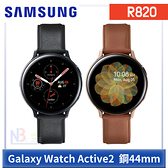 【3月限時促,加送錶帶】 Samsung Galaxy Watch Active2 手錶 R820 鋼 44mm