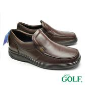 【GOLF】手工氣墊商務休閒鞋 咖啡色(GF295-DBR)