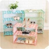 家用多層組裝經濟型簡易鞋架簡約組合鞋柜宿舍置物架 熊熊物語