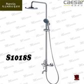 CAESAR 凱薩衛浴 304不鏽鋼淋浴蓮蓬頭 S1018S 耐酸耐熱耐腐蝕 水電DIY 製程研發 - 銅器重力鑄造