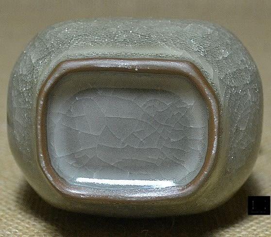 [協貿國際]  青瓷管耳瓶擺件獨件收藏佳品  (1入)