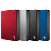 Seagate Backup Plus 4TB 2.5吋 行動硬碟 紅/銀/黑/藍/金