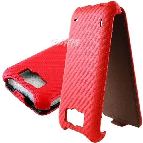 HTC Sensation XL /感動機 XL 動感卡夢紋 下掀式 手機皮套
