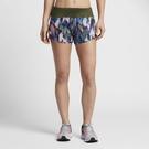 NIKE FLEX 女裝 短褲 慢跑 三吋 休閒 排汗 透氣 軍綠 【運動世界】 831182-331