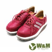 W&M FIT舒適休閒運動鞋慢跑鞋 女鞋-粉(另有藍)