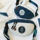 熱賣毛絨包 毛毛包秋冬羊羔毛胸包韓國少女可愛毛絨包包斜背包小包包腰包 coco
