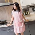 時尚圍裙廚房防油可愛公主成人圍裙
