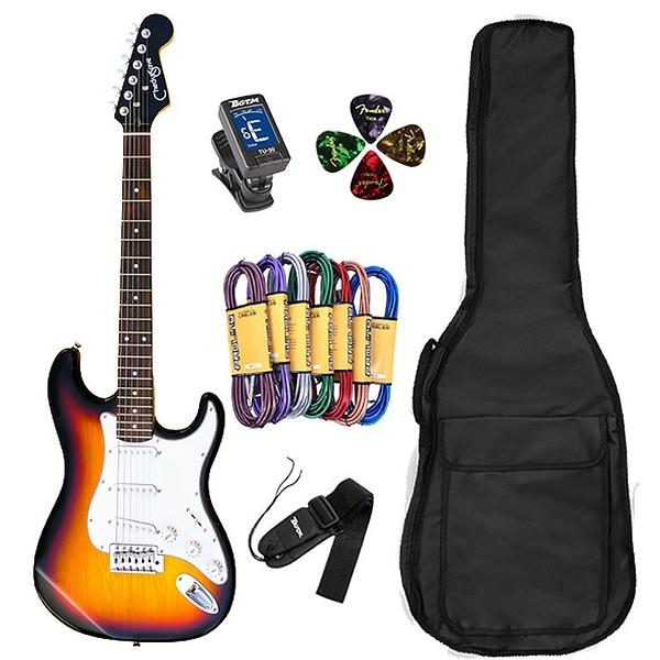 JYC Music 最新款入門嚴選ST-1電吉他-經典漸層/加贈5好禮市價超過16XX