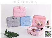 化妝包 多功能ins網紅化妝包品小號便攜韓國簡約大容量隨身收納袋盒少女 霓裳細軟