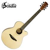 SOLDIN 嚴選SA-4070雲杉單板吉他-加贈五大破千元好禮