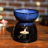 泰式蠟燭香薰燈精油爐大容量美容院臥室內家居創意熏香爐送蠟燭托   小時光生活館