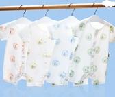 寶寶薄款連身衣純棉短袖夏裝