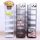 鞋架多層簡易客廳家用鐵藝經濟型多功能簡約迷你防塵門口鞋架鞋櫃jy