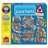 【英國 Orchard Toys】兒童拼圖 城鎮遊戲系列-圓環道路組 OT-321