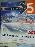 【書寶二手書T6/大學資訊_PIS】AP Computer Science A(2018)_Dean R.Johnson