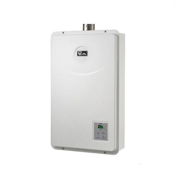 【南紡購物中心】喜特麗熱水器【JT-H1632_LPG】16公升數位恆溫FE式強制排氣型熱水器