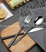 【北歐餐具】銀色款 SUS304葡萄牙不鏽鋼牛排刀 湯匙 叉子 西餐刀 湯勺子 304不銹鋼環保刀叉勺