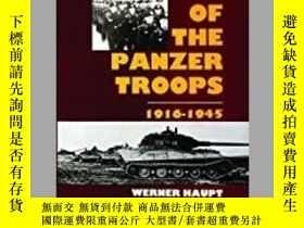 二手書博民逛書店The罕見History of the Panzer Troops 1916-1945 (damaged)-裝甲部