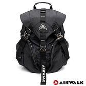 AIRWALK-原力覺醒黑金後背包-黑色