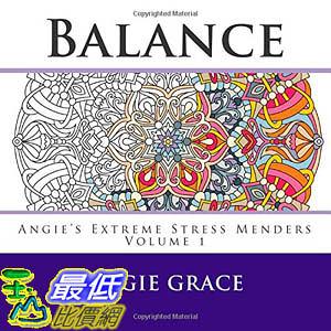 [104美國直購] 2015 美國暢銷書排行榜 Balance (Angie s Extreme Stress Menders Volume 1)