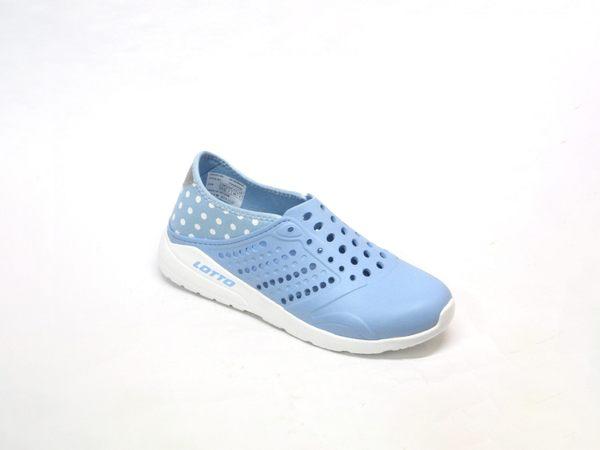 ★0360 ❤ 愛麗絲的最愛☆義大利第一品牌-LOTTO樂得 透氣排水潮流洞洞鞋