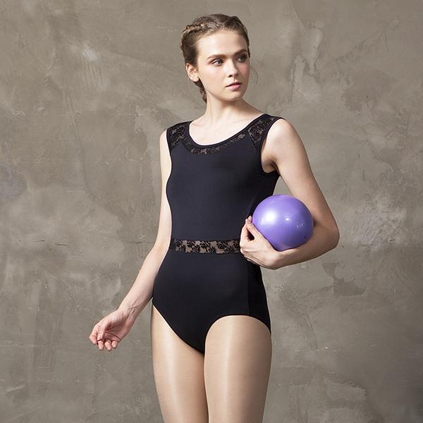 *╮寶琦華Bourdance╭*專業瑜珈韻律芭蕾★背心連身瑜珈服(內有裡襯附罩杯)【Y19273】