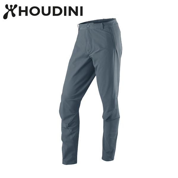 瑞典【Houdini】M`s MTM Thrill Twill Pants 男快乾立體剪裁長褲 雷霆藍 297144