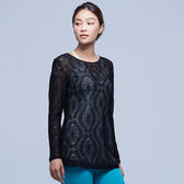 【MACACA】圖騰質感罩衫-BRT3321(黑)(瑜伽/出遊/單車/有氧舞蹈/日常運動)