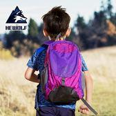 公狼兒童背包戶外運動包雙肩包小學生旅行包休閒包書包男女登山包