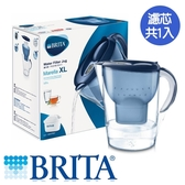 BRITA 馬利拉濾水壺-藍(1壺1芯)【愛買】
