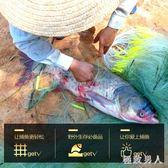 漁網粘網魚網絲網掛子捕魚網鯽魚鰱魚抓魚鯉魚網沉網 XW1432【極致男人】