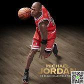 兵人模型ENTERBAY喬丹1/9兵人模型 EB籃球可動玩偶NBA手辦雕像jordan人偶 igo摩可美家