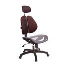 GXG 高背網座 雙背椅 (無扶手) 型號2802 EANH