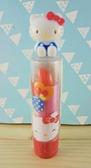 【震撼精品百貨】Hello Kitty 凱蒂貓~KITTY口紅-眨眼圖案-橘色