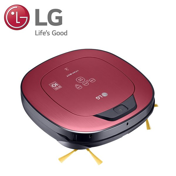 LG-變頻清潔機器人-單眼(典雅紅) VR66413LVM