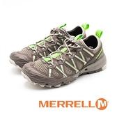 【南紡購物中心】MERRELL CHOPROCK速乾對流水陸兩棲鞋 女鞋 - 灰綠(另有藍灰)