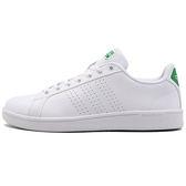 Adidas ADVANTAGE 男 女 白 綠 運動休閒鞋 復古 板鞋 CLEAN CLOUDFOAM sam smith 滑板鞋 AW3914