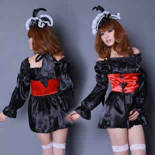 新款惡魔裝萬聖節服裝女巫裝派對